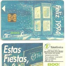 Tarjetas telefónicas de colección: TARJETA DE TELEFÓNICA USADA. Lote 35209790