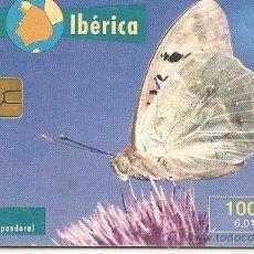 Tarjetas telefónicas de colección: TARJETA TELEFÓNICA SERIE FAUNA IBÉRICA. PANDORA. Lote 35674165