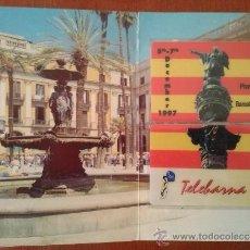 """Tarjetas telefónicas de colección: EDICION CONMEMORATIVA 2ª FERIA INTERNACIONAL DE TELETARJETAS EN BARCELONA """"TELEBARNA 97"""". Lote 36786347"""