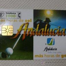 Tarjetas telefónicas de colección: TARJETA DE TELEFONOS AÑOS 90-ANDALUCIA- USADA. Lote 37942830