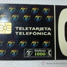 Tarjetas telefónicas de colección: TARJETA DE TELEFONOS AÑOS 90-TELEFONICA- USADA. Lote 37942996
