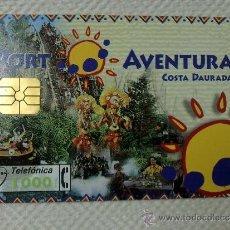 Tarjetas telefónicas de colección: TARJETA DE TELEFONOS AÑOS 90-PORT AVENTURA- USADA. Lote 37943158