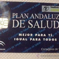 Tarjetas telefónicas de colección: TARJETA DE TELEFONOS AÑOS 90-PLAN DE SALUD ANDALUCIA- USADA. Lote 37943291
