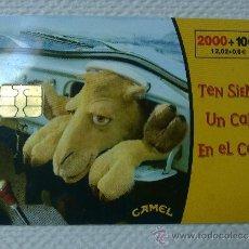 Tarjetas telefónicas de colección: TARJETA DE TELEFONOS AÑOS 90-CAMEL- USADA. Lote 37943351
