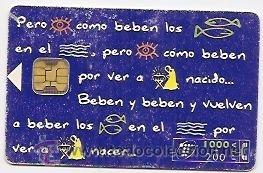 TARJETA TELEFÓNICA. 1000 PESETAS (Coleccionismo - Tarjetas Telefónicas)