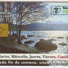 Tarjetas telefónicas de colección: TARJETA TELEFONICA - JUNTA DE CASTILLA Y LEÓN. Lote 40166988