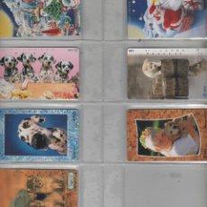 Cartes Téléphoniques de collection: LOTE DE 7 TARJDETAS DE JAPÓN. Lote 42540821