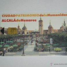Tarjetas telefónicas de colección: TARJETA TELEFONICA USADA ESPAÑOLA. ALCALA DE HENARES 03/01.TARJETA TELEFONICA USADA ESPAÑOLA. ALCALA. Lote 152031390