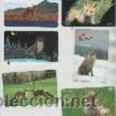 Cartes Téléphoniques de collection: LOTE DE 6 TARJETAS TELEFONICAS. Lote 42949798