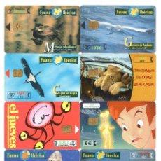 Tarjetas telefónicas de colección: LOTE DE 10 TARJETAS TELEFÓNICAS ESPAÑOLAS DIFERENTES.. Lote 43193338