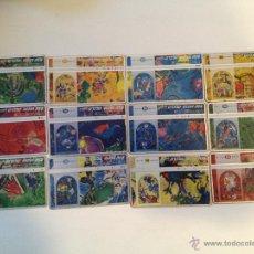 Tarjetas telefónicas de colección: SERIE COMPLETA DE 12 TARJETAS TEMA PINTURA DE ISRAEL MARC CHAGALL RAR. Lote 43370947
