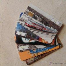 Tarjetas telefónicas de colección: TARJETAS DE 6.01 € 1.000 PTS. (LOTE DE 6 UDS.) VER FOTOS (POSIBILIDAD INDIVIDUALES). Lote 44198087