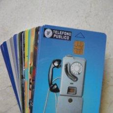 Tarjetas telefónicas de colección: TARJETAS DE 6.00 € (LOTE DE 16 UDS.) VER FOTOS (POSIBILIDAD INDIVIDUALES). Lote 44198221
