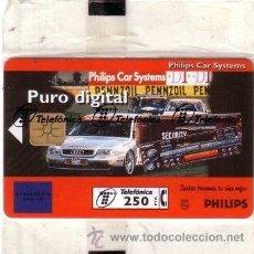 Tarjetas telefónicas de colección: TARJETA TELEFONICA 250 PESETAS PHILIPS CAR SYSTEMS MAYO 1996 TELEFONICA ***NUMISBUR***. Lote 44847177