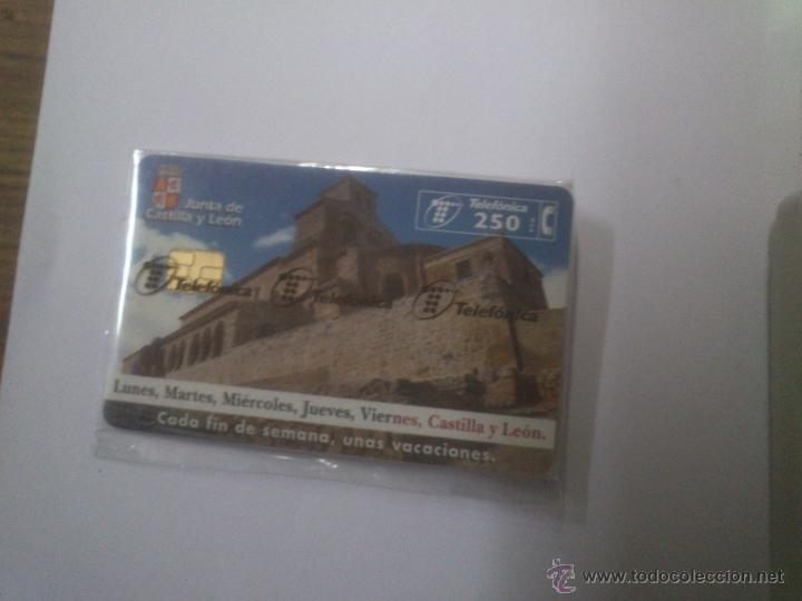 TARJETA TELEFONICA JUNTA DE CASTILLA Y LEON 250 PTA (Coleccionismo - Tarjetas Telefónicas)
