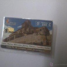 Tarjetas telefónicas de colección: TARJETA TELEFONICA JUNTA DE CASTILLA Y LEON 250 PTA . Lote 46078962