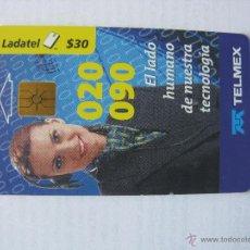 Tarjetas telefónicas de colección: TARJETA TELEFÓNICA LADATEL. TELMEX. AÑO 1999. Lote 46396669