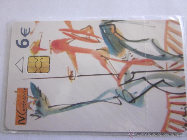TARJETA TELEFÓNICA ESPAÑA CENTENARIO CERVANTES. TIRADA 251.000. AÑO 2005. 2 DE 2 (Coleccionismo - Tarjetas Telefónicas)