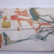 Tarjetas telefónicas de colección: TARJETA TELEFÓNICA ESPAÑA CENTENARIO CERVANTES. TIRADA 251.000. AÑO 2005. 2 DE 2. Lote 48228508
