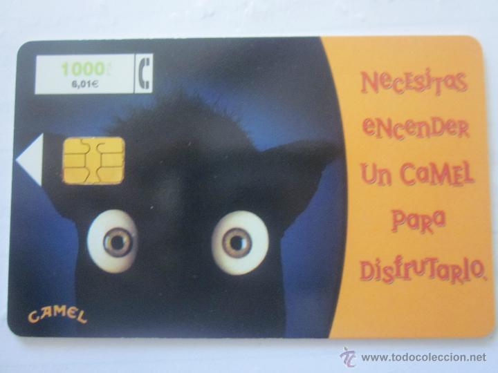 TARJETA TELEFÓNICA ESPAÑA CAMEL. TIRADA 197.000. AÑO 1999 (Coleccionismo - Tarjetas Telefónicas)