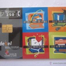 Tarjetas telefónicas de colección: TARJETA TELEFÓNICA ESPAÑA CEDETEL. TIRADA 9.000. AÑO 1998. Lote 48243736