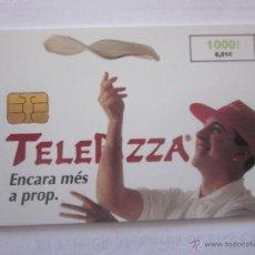 Tarjetas telefónicas de colección: TARJETA TELEFÓNICA ESPAÑA TELEPIZZA. AÑO 1999. Lote 48252140