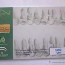 Tarjetas telefónicas de colección: TARJETA TELEFÓNICA ESPAÑA CONCURSO FOTOGRAFÍA. TIRADA 53.000. AÑO 1999. Lote 48253006
