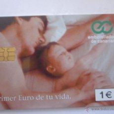 Tarjetas telefónicas de colección: TARJETA TELEFÓNICA ESPAÑA EMBOTELLADORA DE CANARIAS. TIRADA 20.100. AÑO 2001. Lote 48276476