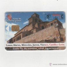 Tarjetas telefónicas de colección: TARJETA TELEFONICA. JUNTA CASTILLA Y LEÓN. Lote 48362781