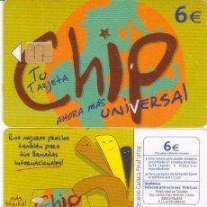 Tarjetas telefónicas de colección: TARJETA TELEFONICA TT CHIP. Lote 86573343