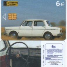 Cartões de telefone de coleção: TARJETA TELEFONICA COCHES CON ENCANTO SIMCA 1000 VER DETALLE. Lote 115157327