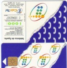 Cartões de telefone de coleção: TARJETA TELEFONICA 1000 PESETAS TT. Lote 183308170