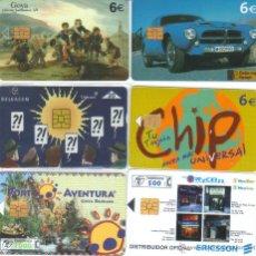 Cartões de telefone de coleção: LOTE DE TARJETAS TELEFONICAS VARIAS TT VER DETALLE. Lote 48964083