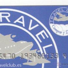 Tarjetas telefónicas de colección: TARJETA TRAVEL CLUB. Lote 151205502