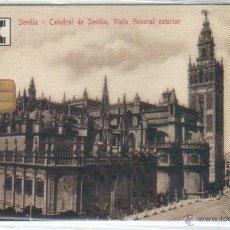 Tarjetas telefónicas de colección: TARJETA TELEFONICA ESPAÑA 2002 TIRADA 2500 MUY BAJA NUEVA CON PRECINTO SEVILLA. Lote 49672990