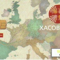 Tarjetas telefónicas de colección: TARJETA TELEFONICA XACOBEO 99 6/ 1999 VER DETALLE MAPA EUROPA TT. Lote 245530620