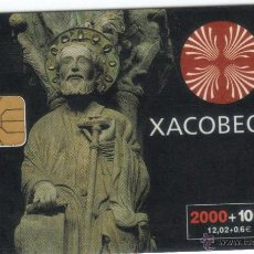 Cartes Téléphoniques de collection: TARJETA TELEFONICA XACOBEO 99 SANTIAGO TT 2000+100 PESETAS. Lote 50391651