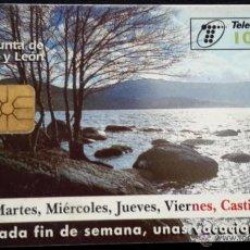 Tarjetas telefónicas de colección: TELEFÓNICA CASTILLA Y LEÓN 6,01€. Lote 50595051