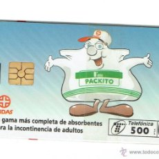 Cartes Téléphoniques de collection: TARJETA TELEFONICA ESPAÑA - INDAS - NUEVA (EN SU ENVOLTORIO ORIGINAL)- PHONECARD SPAIN - NEW. Lote 50874133