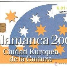 Cartões de telefone de coleção: TARJETA TELEFONICA TELEFONO SALAMANCA. Lote 209768802