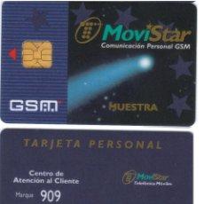 Tarjetas telefónicas de colección: ESPAÑA TT TARJETA TELEFONICA MOVISTAR GSM MUESTRA 000 VER DETALLE. Lote 51236429