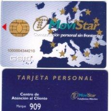 Tarjetas telefónicas de colección: ESPAÑA TT TARJETA TELEFONICA GSM GEM PLUS CHIP OVAL VER DETALLE. Lote 51236447