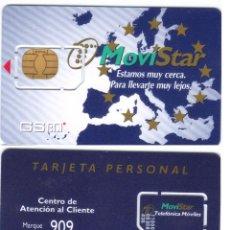 Tarjetas telefónicas de colección: ESPAÑA TT TARJETA TELEFONICA GSM CHIP MOVISTAR PERSONAL DETALLE. Lote 51236463
