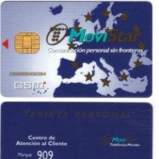Tarjetas telefónicas de colección: ESPAÑA TT TARJETA TELEFONICA GSM MOVISTAR PERSONAL CHIP VER DETALLE. Lote 51236471