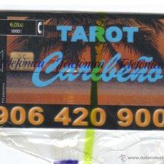 Tarjetas telefónicas de colección: ESPAÑA TT TARJETA TELEFONICA TAROT CARIBEÑO NUEVA CON PRECINTO 2001. Lote 51419361