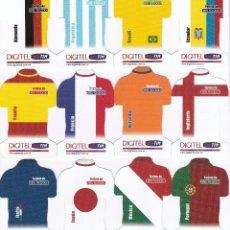Tarjetas telefónicas de colección: SERIE COMPLETA DE 12 TARJETAS DE VENEZUELA MUNDIAL FUTBOL ALEMANIA 2006 (FOOTBALL). Lote 52413462