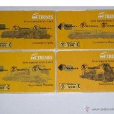 Tarjetas telefónicas de colección: COLECCION TARJETAS TELEFONICAS ESPAÑA NUEVAS PRECINTADAS. Lote 25938507