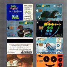 Tarjetas telefónicas de colección - LOTE DE 10 TARJETAS TELEFONICAS. VER FOTOS. - 53677072