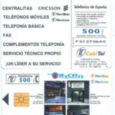 Cartes Téléphoniques de collection: ESPAÑA TT TARJETA TELEFONICA TREYCAR ERICSSON. Lote 86573427