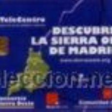 Cartes Téléphoniques de collection: ESPAÑA TT TARJETA TELEFONICA SIERRA OESTE DE MADRID 2003. Lote 53809359